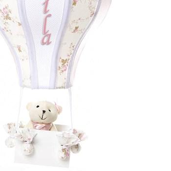 Meio Balão Ursa Rosa
