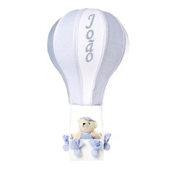 Meio Balão Urso Azul