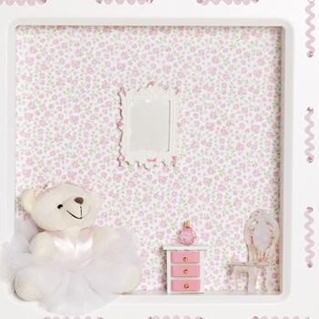 Nicho 1 Led Ursa Bailarina Rosa