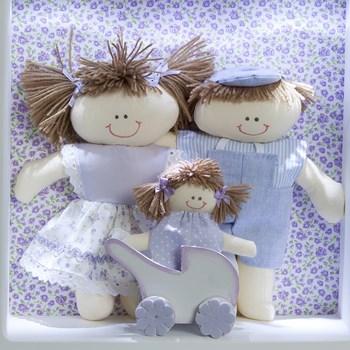 Nicho 3 Leds Família Menina