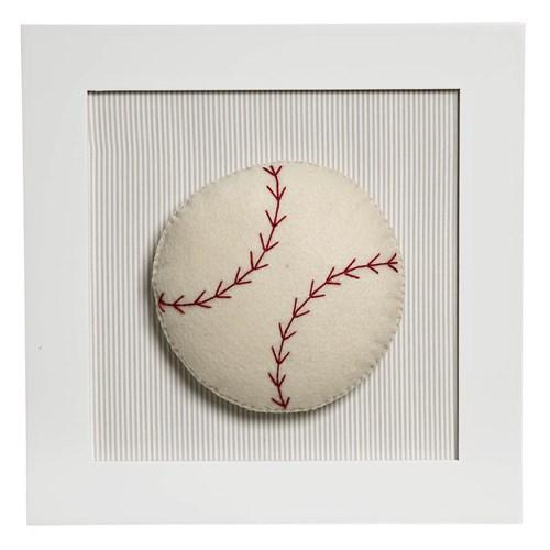Quadro Decorativo Bola Beisebol
