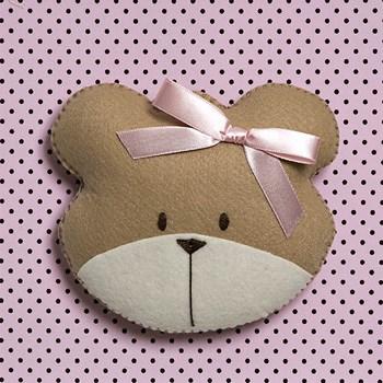 Quadro Decorativo Cara Da Ursa