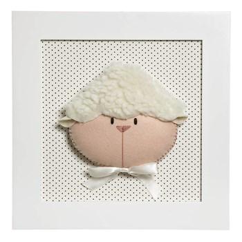 Quadro Decorativo Cara De Ovelha