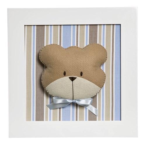 Quadro Decorativo Cara Do Urso