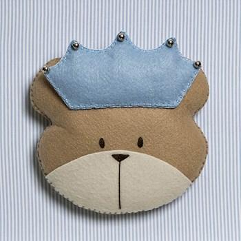 Quadro Decorativo Cara Do Urso Príncipe