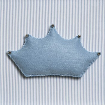 Quadro Decorativo Corôa Azul