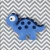Quadro Decorativo Dino Estegossauro