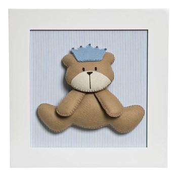 Quadro Decorativo Urso Príncipe