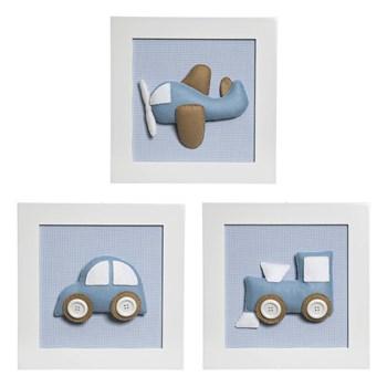 Trio De Quadros Transporte