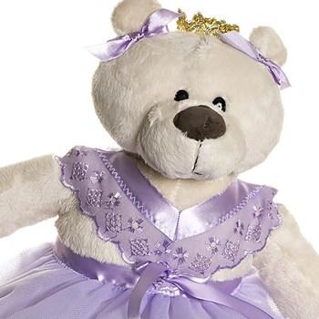 Ursa Bailarina Lilás