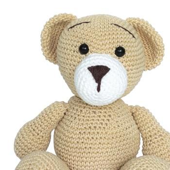 Urso Juju Amigurumi Crochê